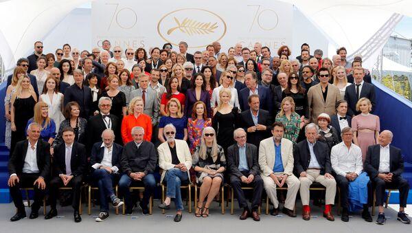 Actores, directores y miembros del jurado del Festival de Cannes - Sputnik Mundo