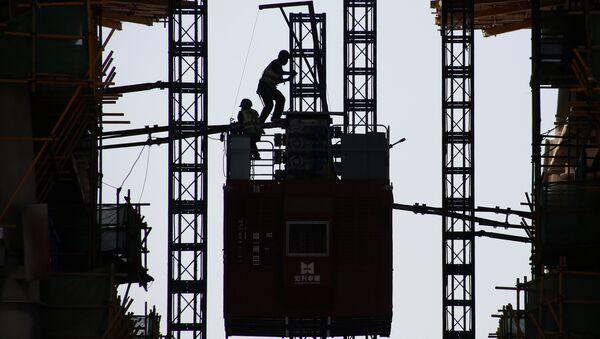 Obreros chinos - Sputnik Mundo