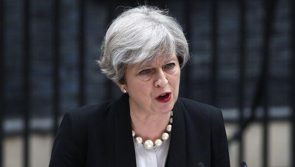 Theresa May, la primera ministra del Reino Unido (archivo) - Sputnik Mundo