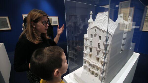 Exposición de Antonio Gaudí en Moscú - Sputnik Mundo