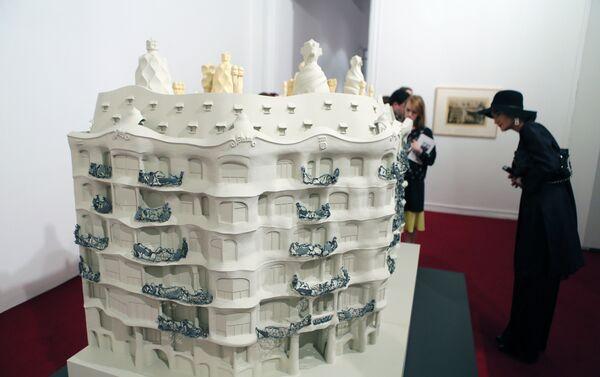 Exposición de Antonio Gaudí en Museo de Arte Moderno de Moscú - Sputnik Mundo