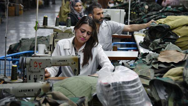 La producción industrial en Siria - Sputnik Mundo