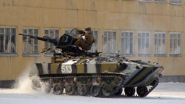 Vehículo blindado bielorruso - Sputnik Mundo