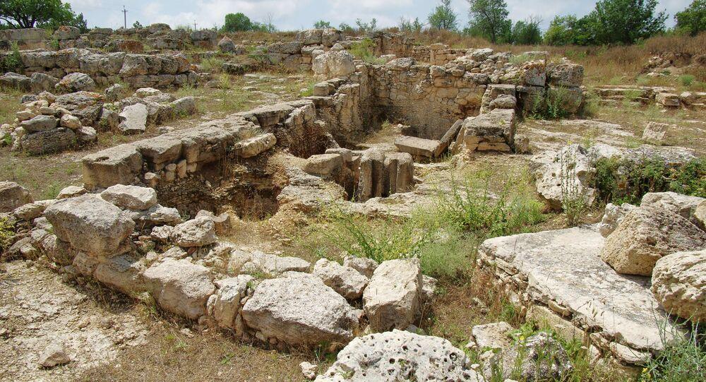 Un lugar de excavaciones