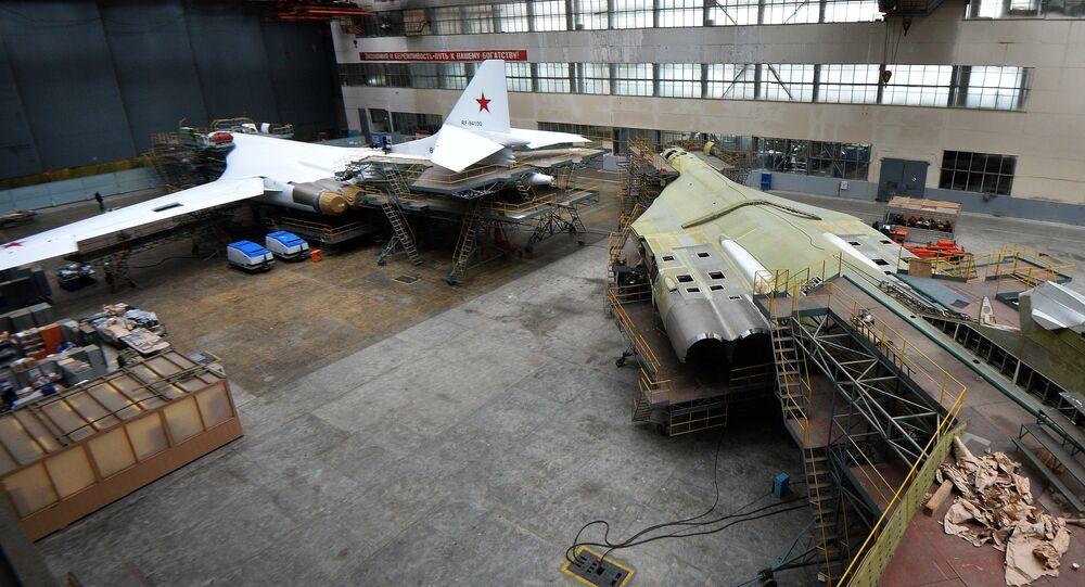 Капитальный ремонт самолетов Ту-160 на Казанском авиазаводе