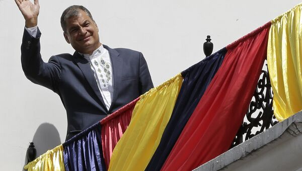 Rafael Correa - Sputnik Mundo