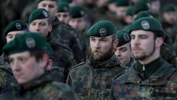 Soldados alemanes (imagen referencial) - Sputnik Mundo