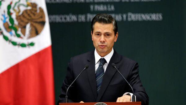 Enrique Peña Nieto, presidente de México - Sputnik Mundo