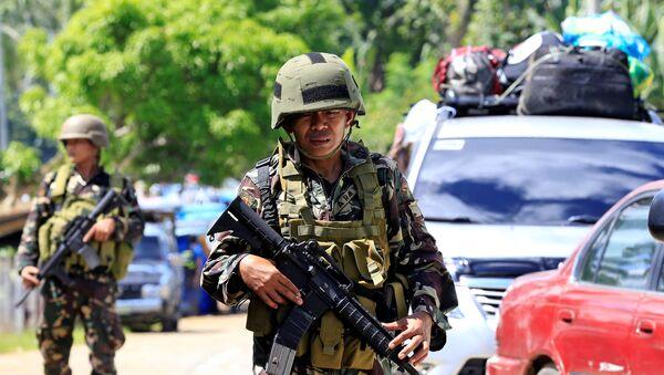 Soldado filipino - Sputnik Mundo