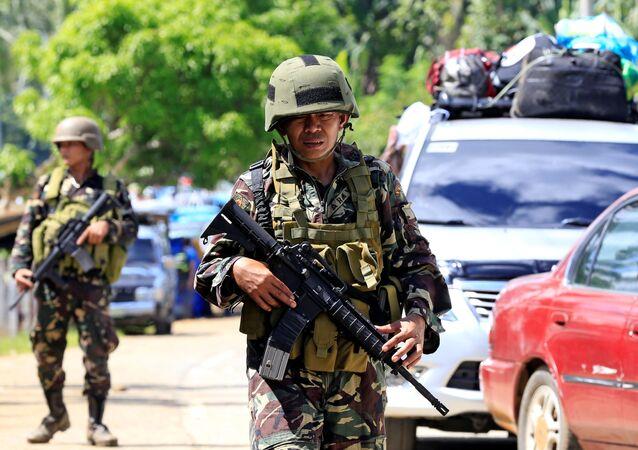 Soldado filipino