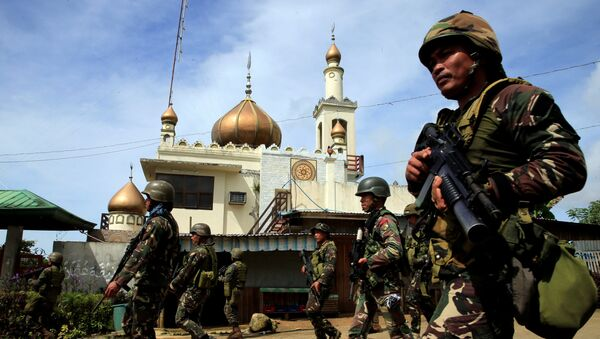 Soldados del Ejército de Filipinas - Sputnik Mundo
