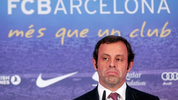 Sandro Rosell, expresidente del FC Barcelona (archivo) - Sputnik Mundo