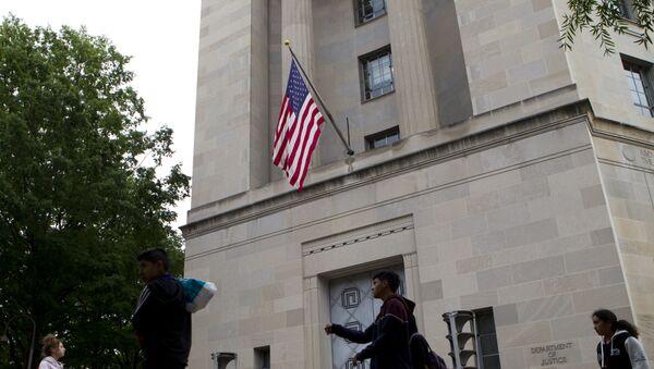 La sede del Departamento de Justicia de EEUU (archivo) - Sputnik Mundo