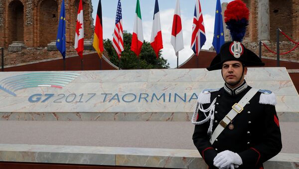 Cumbre del G7 en Taormina, Italia - Sputnik Mundo