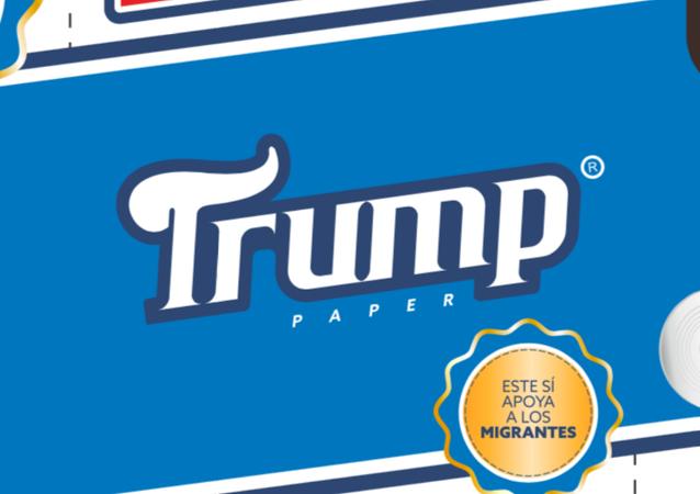Papel higiénico Trump