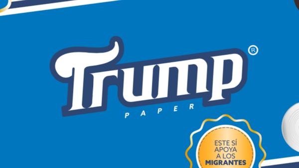 Papel higiénico Trump - Sputnik Mundo
