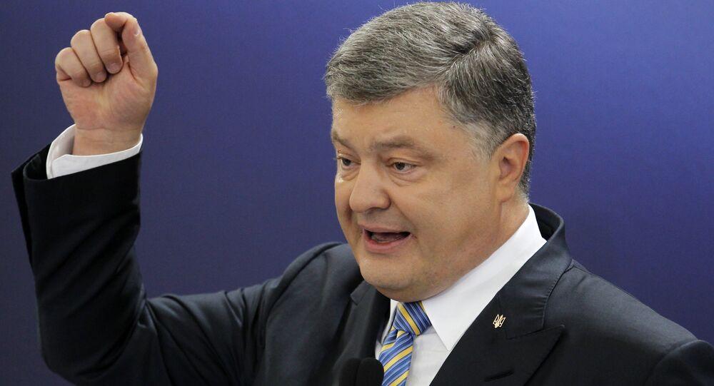 Petró Poroshenko, presidente de Ucrania