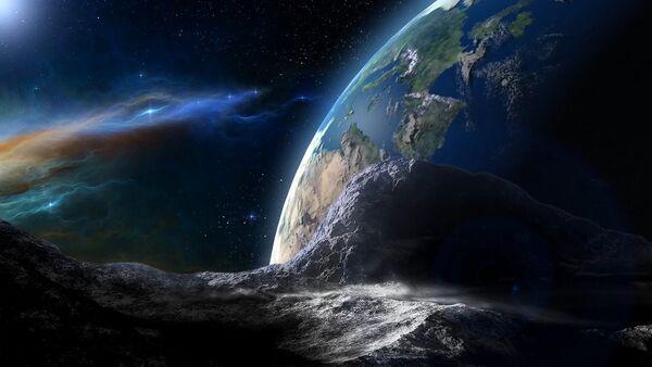 Un asteroide dirigiéndose a la Tierra - Sputnik Mundo