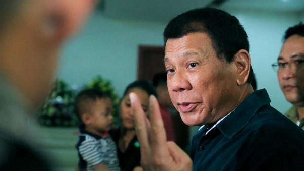 Rodrigo Duterte, presidente de Filipinas - Sputnik Mundo