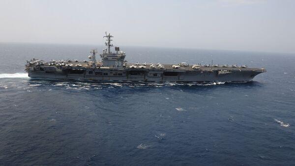 Portaviones estadounidense USS Nimitz - Sputnik Mundo