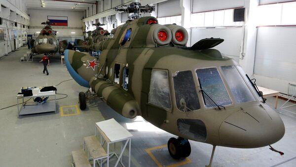 Los sistemas Richag-AV instalados sobre los helicópteros Mi-8 - Sputnik Mundo
