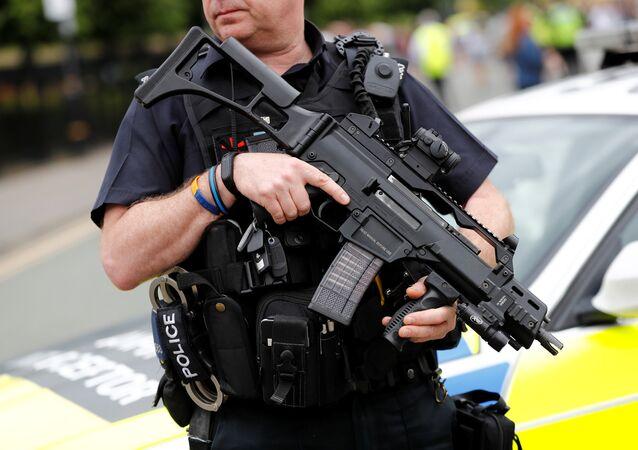 La policía del Reino Unido (archivo)