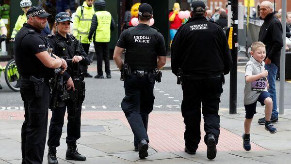 La policía en Manchester - Sputnik Mundo