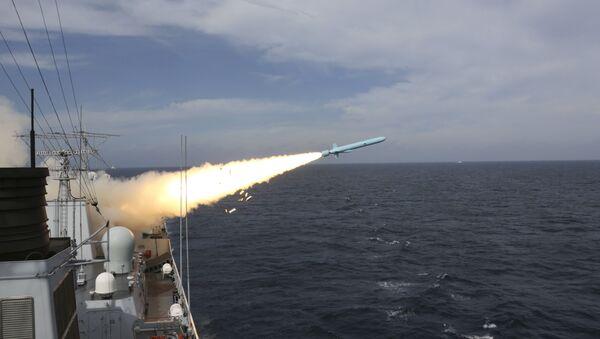 El lanzamiento de misiles en China - Sputnik Mundo