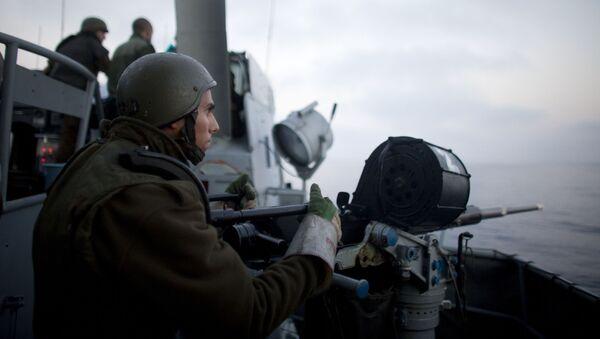 Militares israelíes - Sputnik Mundo