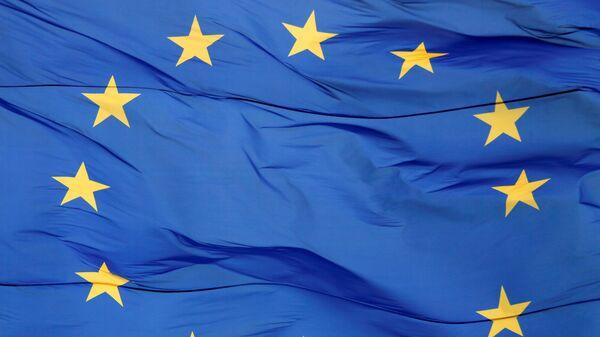 Bandera de la UE (archivo) - Sputnik Mundo