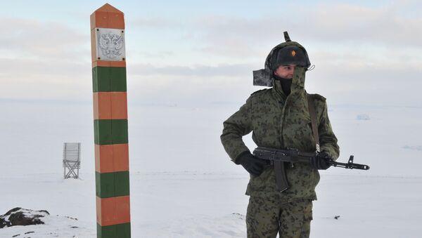 Аrontera de Rusia (Archivo) - Sputnik Mundo