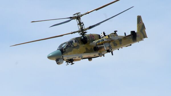 Ka-52 en Siria - Sputnik Mundo