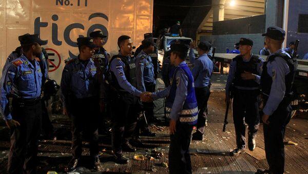 La policía de Honduras - Sputnik Mundo