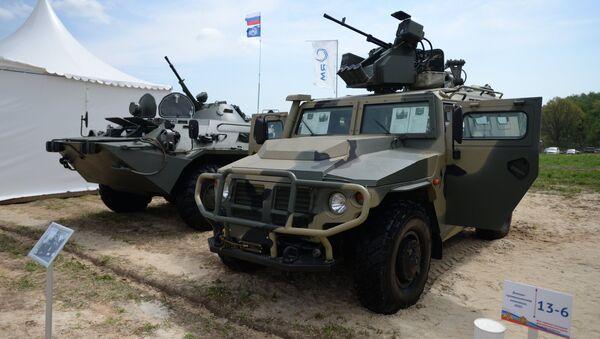 Vehículo blindado Tigr - Sputnik Mundo