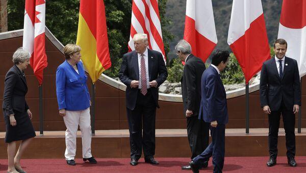 Los líderes de los países de G7 - Sputnik Mundo