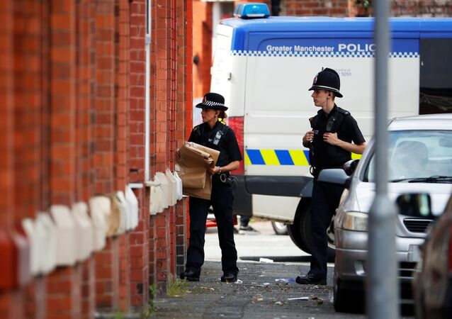 La policía de Mánchester