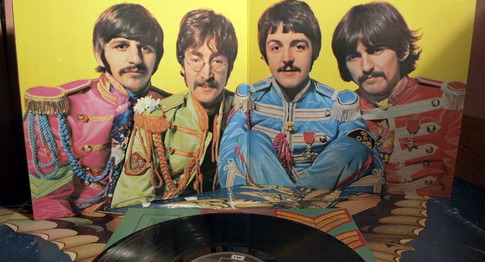 Un vinilo de 'Sgt. Pepper's Lonely Hearts Club Band'