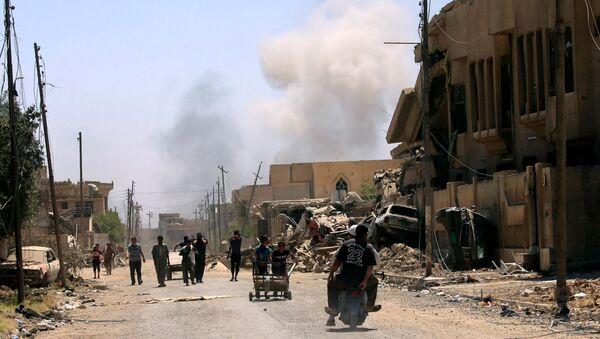 Situación en Mosul - Sputnik Mundo