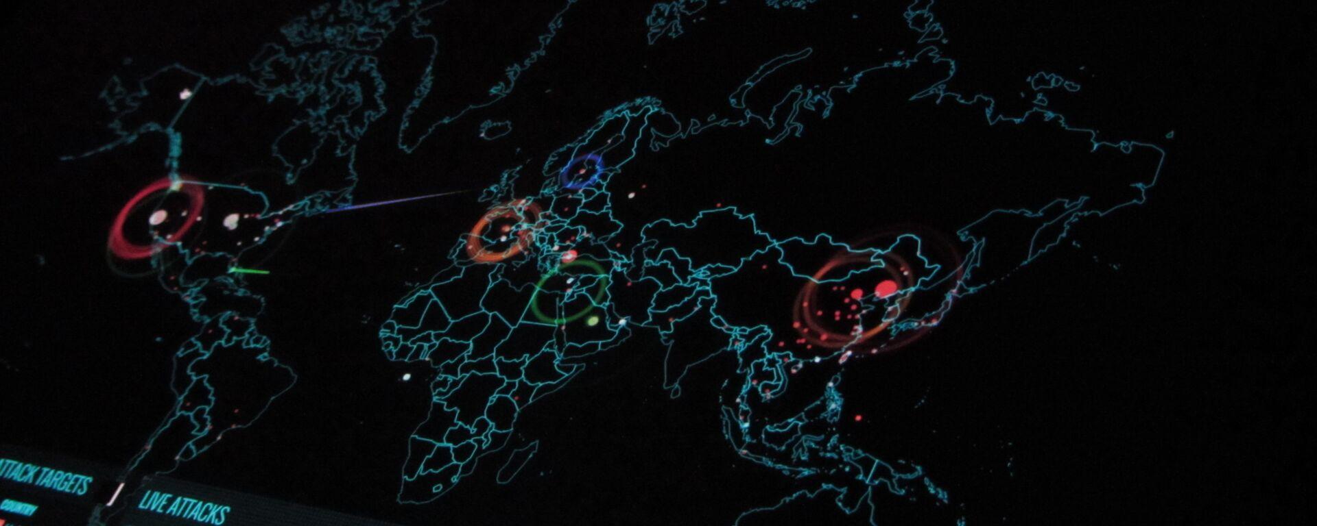 Ciberataque (imagen referencial) - Sputnik Mundo, 1920, 12.03.2021
