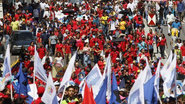 Partidarios de Nicolás Maduro (Archivo) - Sputnik Mundo