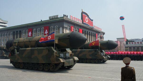 Desfile militar en Pyongyang - Sputnik Mundo