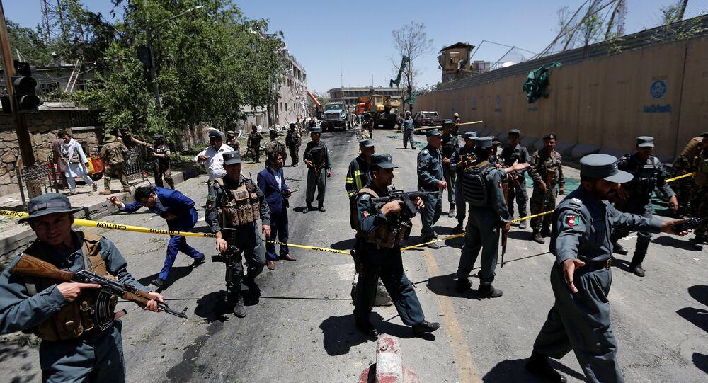 Coche bomba en Kabul (archivo)