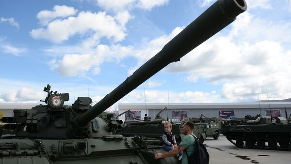 El tanque soviético T-55 - Sputnik Mundo