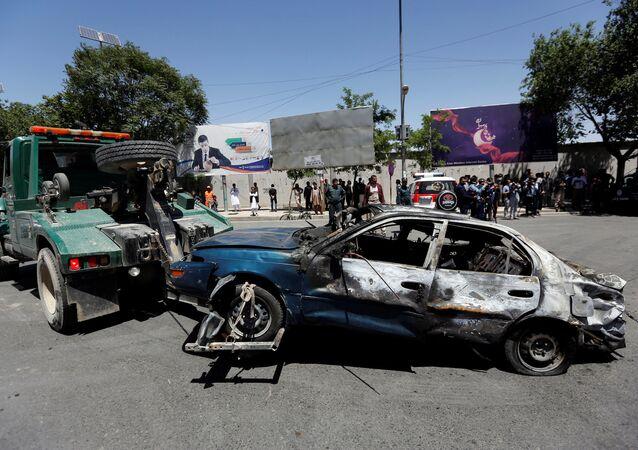 Consecuencias del atentado de Kabul, Afganistán