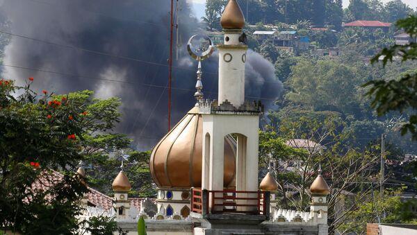 Situación en la ciudad filipina de Marawi capturada por los yihadistas de Daesh - Sputnik Mundo
