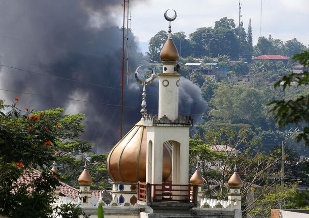 Situación en Marawi