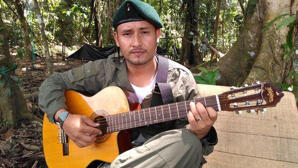 Euder Forero, uno de los guerrilleros de las FARC - Sputnik Mundo