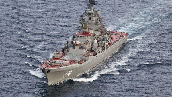 Crucero pesado nuclear Piotr Veliki - Sputnik Mundo