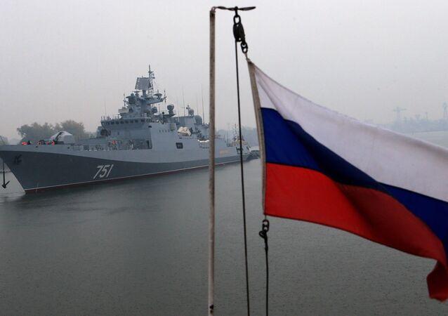 La fragata Almirante Essen