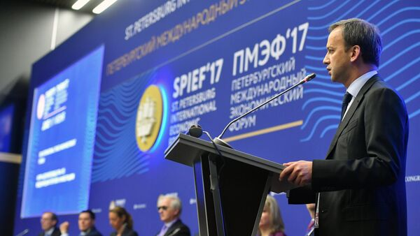 El vice primer ministro ruso, Arkadi Dvorkóvich - Sputnik Mundo